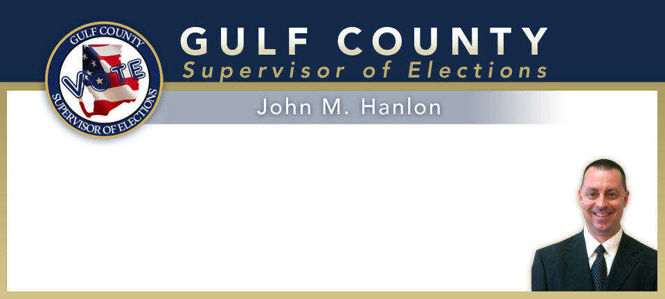 Gulf County Supervisor of Elections - John Hanlon